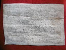 REGNE PHILIPPE IV LE BEL PARCHEMIN 1287 HUMBERT DE LA TOUR DAUPHIN DE VIENNOIS VENTE A PONS DE MONTEIL - Historical Documents