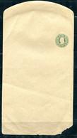 USA PS Wrapper 1c Franklin Unused Broken Frame Bottom Right Cut Corner  10715 - Unused Stamps