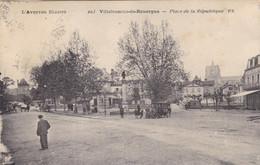 Aveyron - Villefranche-de-Rouergue - Place De La République - Villefranche De Rouergue