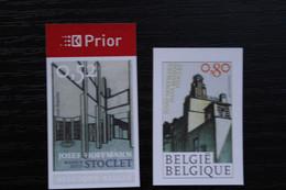 Jaar 2007: 3629/30 'Stoclet Huis' - Ongetand - Zeer Mooi! - Non Dentelés