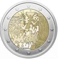 2 Euro Commemorative France 2019 30 Ans De La Chute Du Mur De Berlin - France