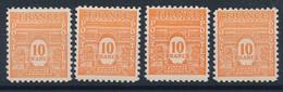 EC-231: FRANCE: Lot Avec N°629** (4) - Unused Stamps