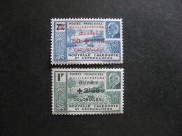 Wallis Et Futuna:  TB  Paire N° 131 Et N° 132, Neufs XX. - Unused Stamps
