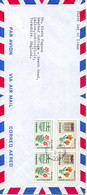 CANADA. N°350-1 Sur Enveloppe 1er Jour (FDC) De 1965 Ayant Circulé. Rose Sauvage/Lis Orange De Prairie. - Rosen