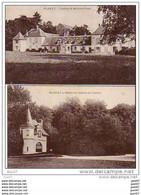 2  Cpa ( Dep 60 )          CHATEAUX De Valliére Et De Fosse - Castles