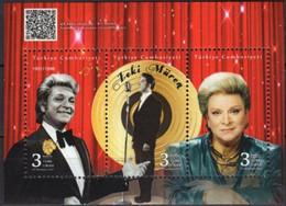 Turkey 2021, Zeki Müren - Turkish Singer And Star, MNH Unusual S/S - Unused Stamps