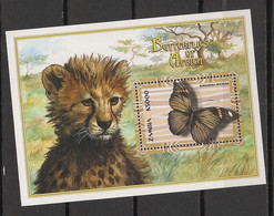 Zambia - 2000 - Bloc Feuillet BF N° Yv. 71 - Papillons / Butterflies - Neuf Luxe ** / MNH / Postfrisch - Schmetterlinge