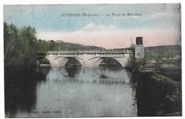 7 Joyeuse Le Pont De Rosieres Rare - Joyeuse
