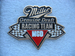 Pin's Miller. Genuine Draft Racing Team. - Rallye
