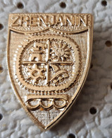 ZRENJANIN  Coat Of Arms, Blason Serbia Ex Yugoslavia Pin - Città