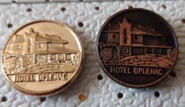 Hotel Oplenac  Coat Of Arms, Blason Serbia Ex Yugoslavia Pins - Città