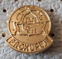 PROKUPLJE Coat Of Arms, Blason Serbia Ex Yugoslavia Pin - Città