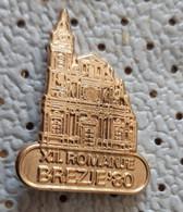BREZJE Church  Slovenia Pin - Città