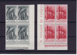 """1955 - SERIE IN QUARTINA """"  PETROLIO """" NUOVA MNH** VEDI++++ - 1946-60: Mint/hinged"""