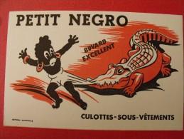 Buvard Petit Negro. Culottes Sous-vêtements. Crocodile. Vers 1950 - Animals