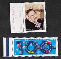 France 2021 - Elsa Triolet  Et Code De La Route - Oblitérés - Used Stamps