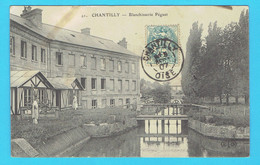 CPA CHANTILLY Blanchisserie Péguet - 60 Oise - Chantilly