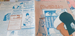 FANTASIO  14/DALIMIER BARRERE/VALLEE BAINS/FABIANO KIRCHNER /SUFFRAGETTES/DERVAL/HUARD/RIBOT - 1900 - 1949