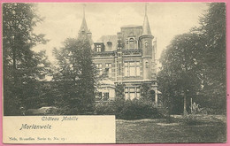 C.P.  Morlanwelz = Château  MABILLE - Morlanwelz