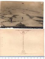 Cartolina La Spedizione Nobile -La Nave Ohby Bloccata Da Ghiaccio - Dirigibile Al Polo Nord - Aeronaves