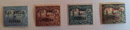 WALLIS ET FUTUNA - N° 1/4, Timbres Taxe Nouvelle Calédonie Neufs Avec Charniere - Postage Due