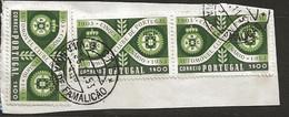 Timbre Portugal Belle Obliteration La Nova De Famalicao - Used Stamps