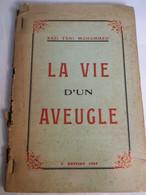 RARE - KAZI TANI MOHAMMED - LA VIE D'UN AVEUGLE - 1952 TLEMCEN - ENVOI MANUSCRIT AVEC CACHET - Biographie