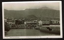 Carte Photo - Santa Cruz De Tenerife - El Teide Desda El Puerto De La Cruz - Voir Scans - Tenerife