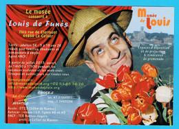CPM Musée Louis De Funès - Le Cellier 44 - Actors