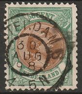 Netherlands 1896 Sc 51  Used - Gebruikt