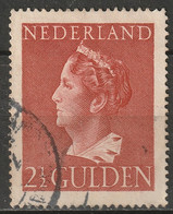 Netherlands 1946 Sc 279  Used  Toning - Gebruikt