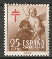 Spain 1953 Sc RAC13  Postal Tax Air Post MNH** - Postage-Revenue Stamps