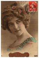 Femme Photo 954 Femme Avec Aigrette Plume - Donne
