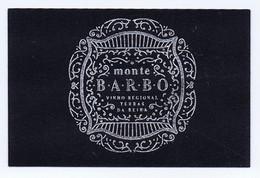 C21a) Carte De Visite Commerce Enologie Vins Portugal MONTE BARBO Vinho Regional Terras Da Beira  8,5x5,5cm - Visiting Cards