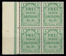 DEUTSCHES REICH DIENSTMARKEN 1903 05 Nr 3 Postfrisch VI X89C45E - Dienstzegels