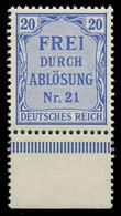 DEUTSCHES REICH DIENSTMARKEN 1903 05 Nr 5 Postfrisch UR X89C46E - Dienstzegels