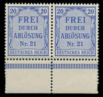 DEUTSCHES REICH DIENSTMARKEN 1903 05 Nr 5 Postfrisch WA X89C48E - Dienstzegels