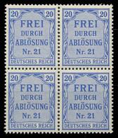 DEUTSCHES REICH DIENSTMARKEN 1903 05 Nr 5 Postfrisch VI X89C49A - Dienstzegels