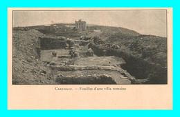 A940 / 793 Tunisie CARTHAGE Fouilles D'une Villa Romaine - Tunisia