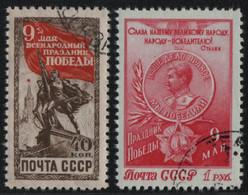 Russia / Sowjetunion 1950 - Mi-Nr. 1473-1474 Gest / Used - Tag Des Sieges - Gebraucht