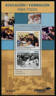 Costa Rica 2015 Education For All Stamp MS/Block MNH - Costa Rica