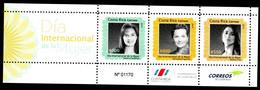 Costa Rica 2017 International Women's Day Stamp MS/Block MNH - Costa Rica