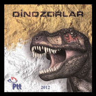 Turkey 2012 Mih. 3969 Prehistoric Fauna. Dinosaur. T-Rex (lenticular 3D) MNH ** - Nuovi