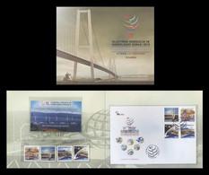 Turkey 2013 Mih. 4061/64 + 4065/68 (Bl.106) Transportation Maritime Affairs And Communication Forum MNH ** - Nuovi