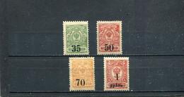Sibérie 1919 Yt 1-4 * - Siberië En Het Verre Oosten