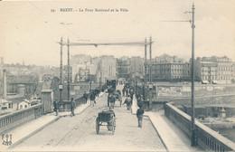 Brest (29 - Finistère) Le Pont National Et La Ville - Tramway Attelage - édit FT N° 99 - Brest