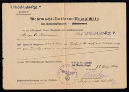L1 + K1 II./Nebel-Lehr-Rgt. 2 + L2 Tr. Üb. Pl. Raubkammer Bei Munster (Lager) - Unclassified