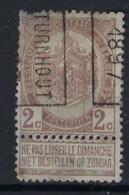 RIJKSWAPEN Nr. 55   Voorafgestempeld Nr. 128  B   TURNHOUT 1897 ; Staat Zie Scan ! Inzet Aan 10 € ! - Roller Precancels 1894-99