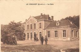 LE CREUSOT : LA GARE - Le Creusot