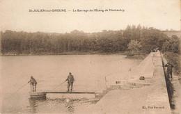 SAINT JULIEN SUR DHEUNE : LE BARRAGE DE L'ETANG DE MONTAUBRY - Altri Comuni